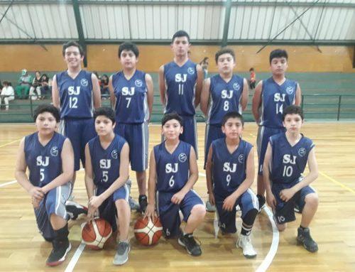Encuentro de Basquetbol Sub 13 varones