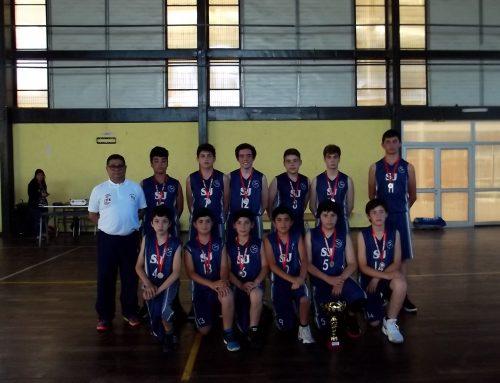 Cuadrangular de Basquetbol Sub 13 varones