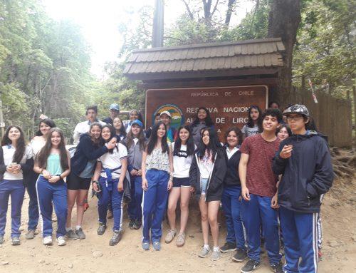 Visita de la Brigada de Convivencia a la Reserva Alto de Lircay