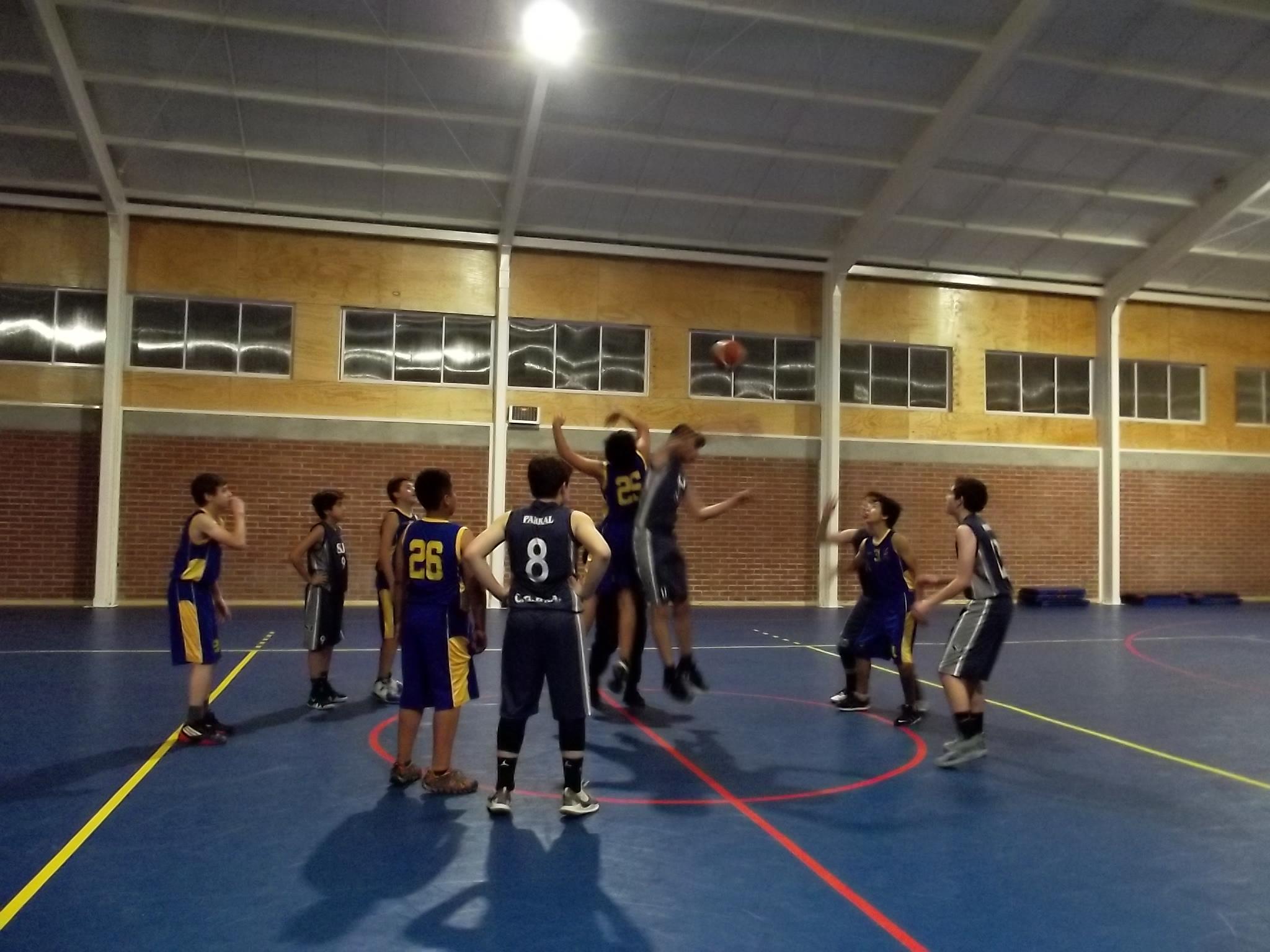 Campeonato Comunal de Basquetbol Escolar - Colegio San José